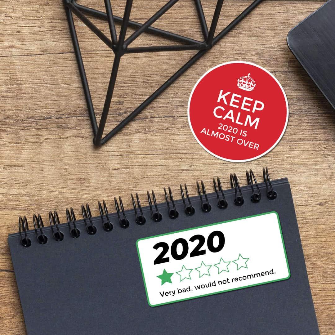 2020 review custom sticker