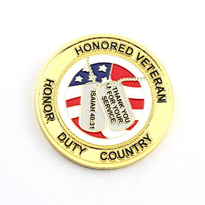 veterans day award coin