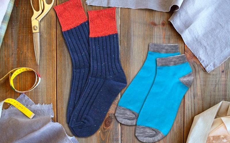 custom socks choose your sock style