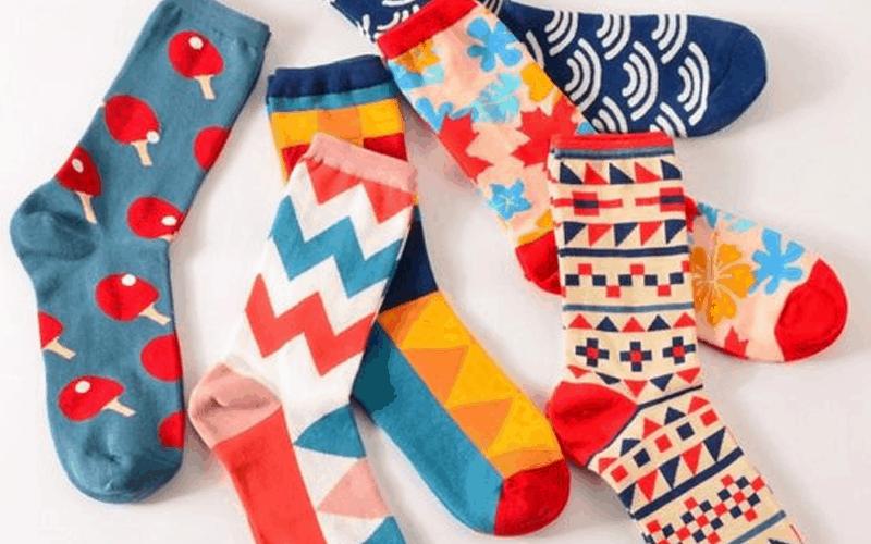 custom socks dye sublimated
