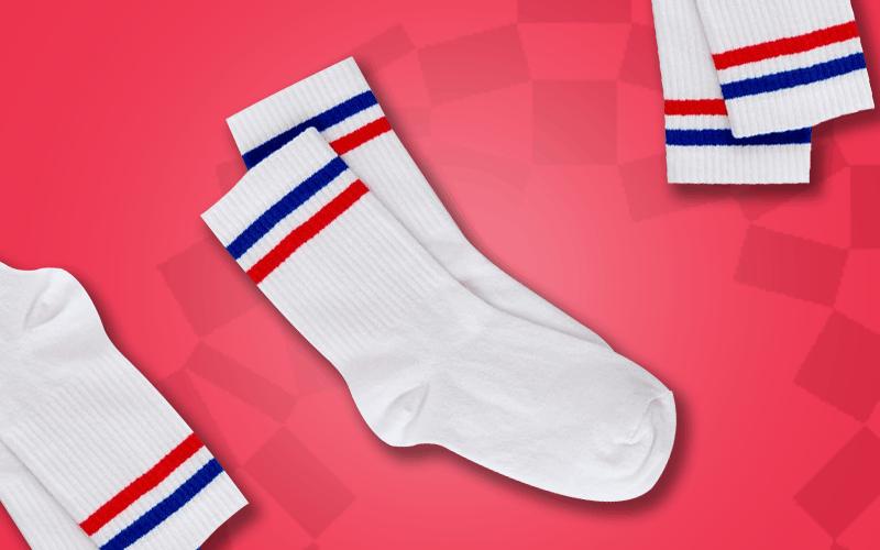 custom socks for the olympics