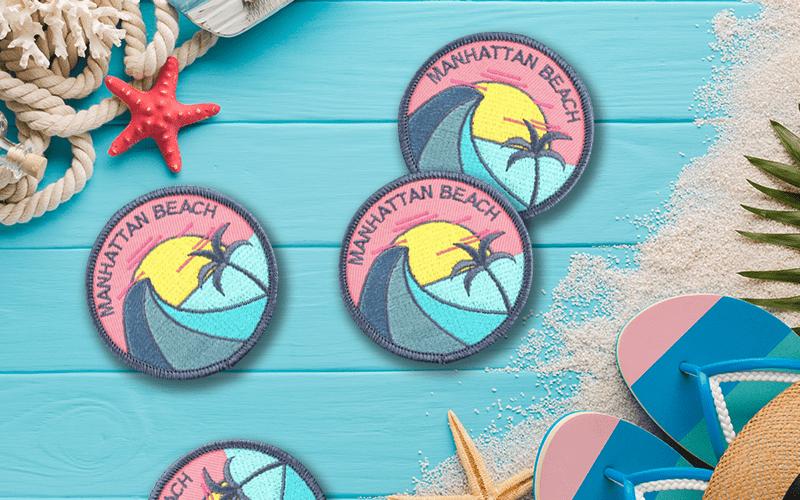 summer custom products custom patch manhattan beach