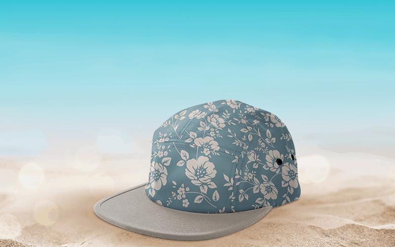 summer custom products vacation custom 5 panel hat