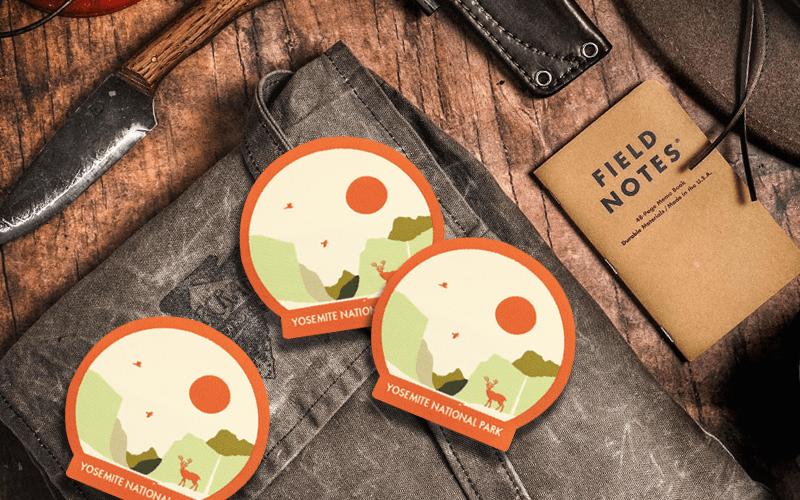 summer custom products custom patch yosemite park