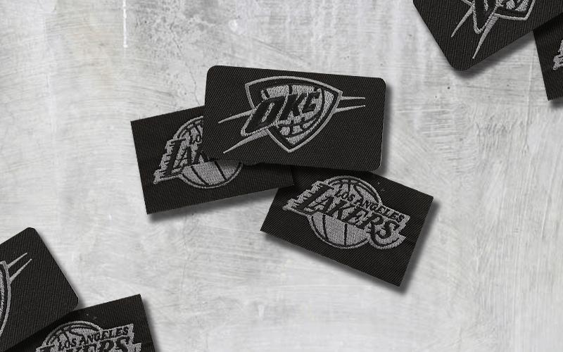high school sports custom patches